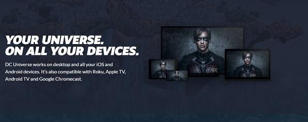 DC Universe compatibilidad