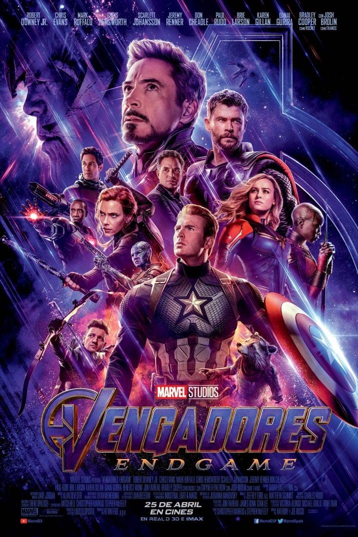 Póster oficial Vengadores: Endgame