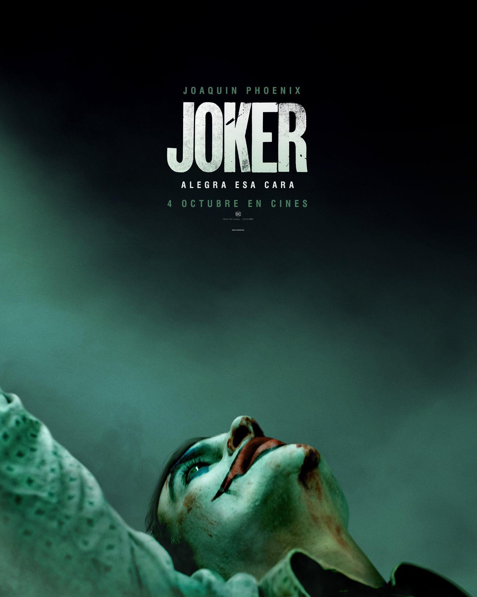 Primer póster oficial Joker