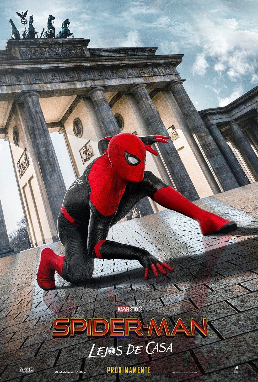 Póster oficial Spider-Man: Lejos de casa (2019)