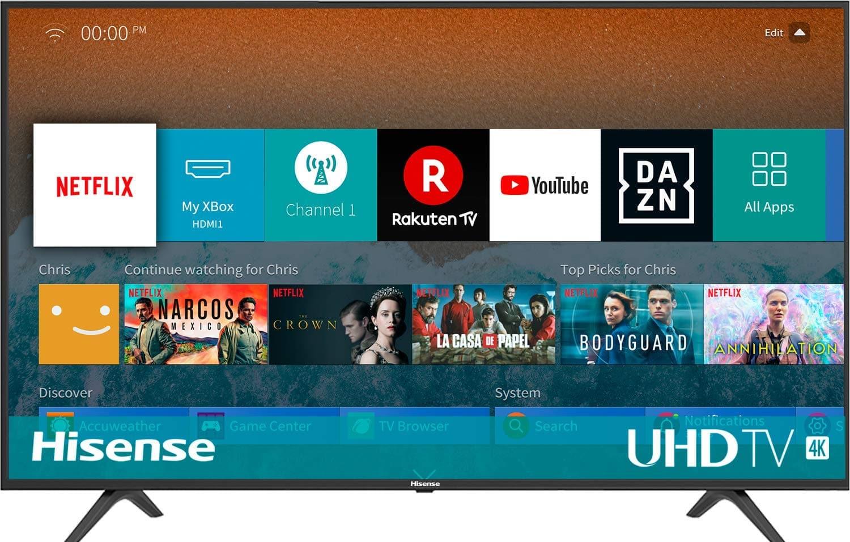 Smart TV 4K barata