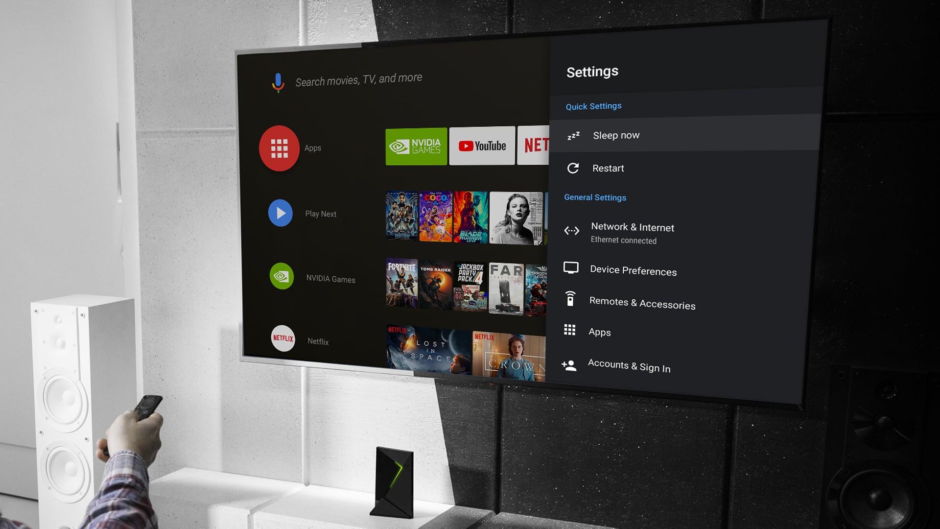 Nvidia ShieldTV - Android 9