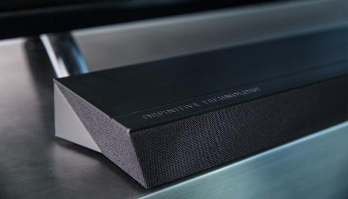 Barra de sonido Studio Slim 3.1 de Definitive Technology.