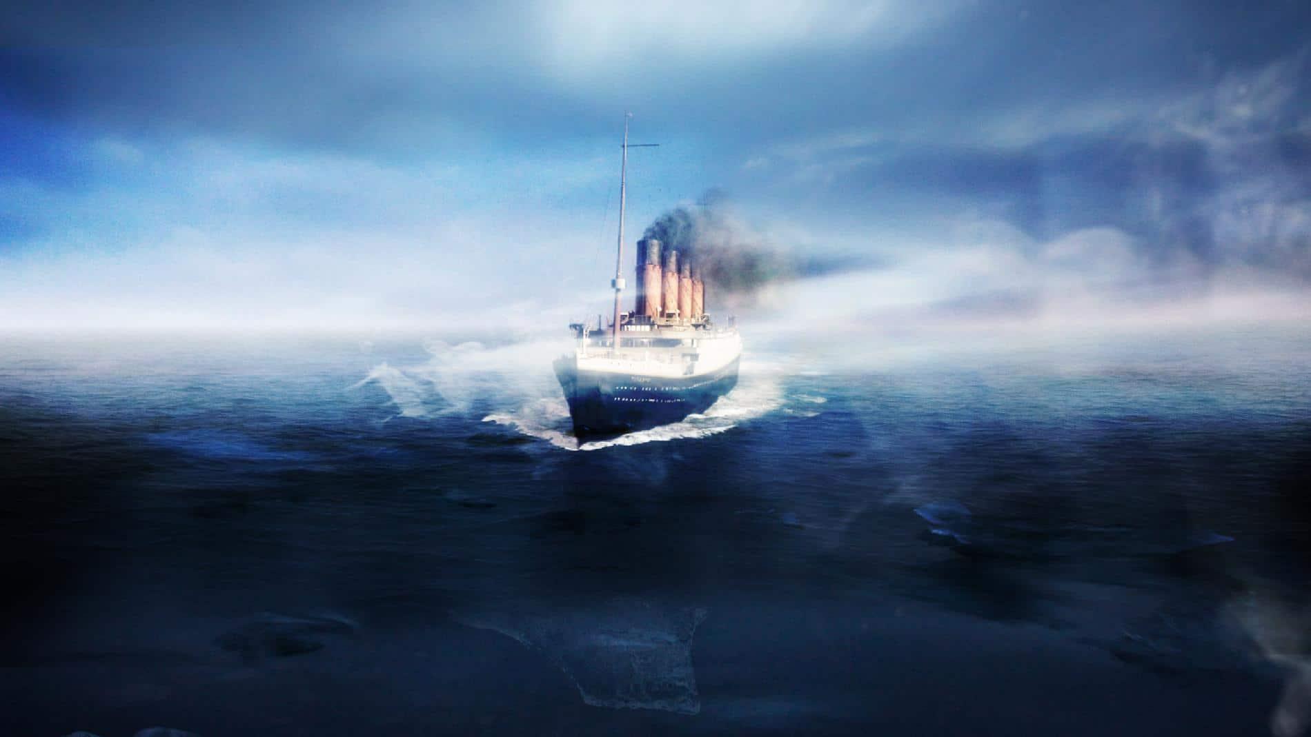 Cartel de Titanic: 20 años después