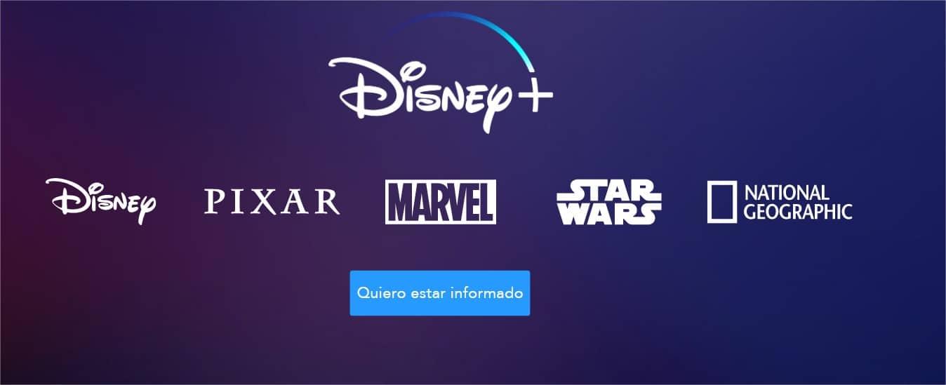 web de Disney+