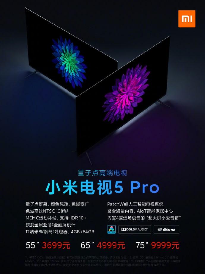 Precio de la Smart TV Xiaomi