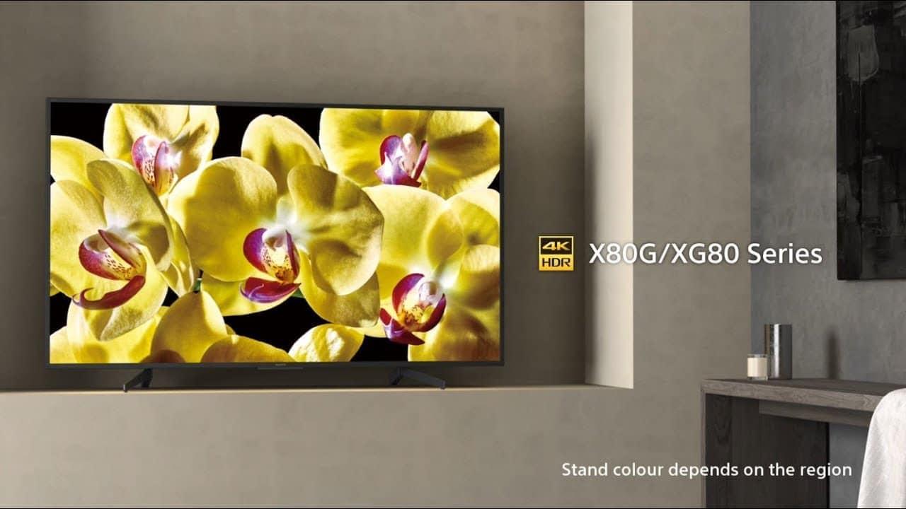 Smart TV Sony XG81