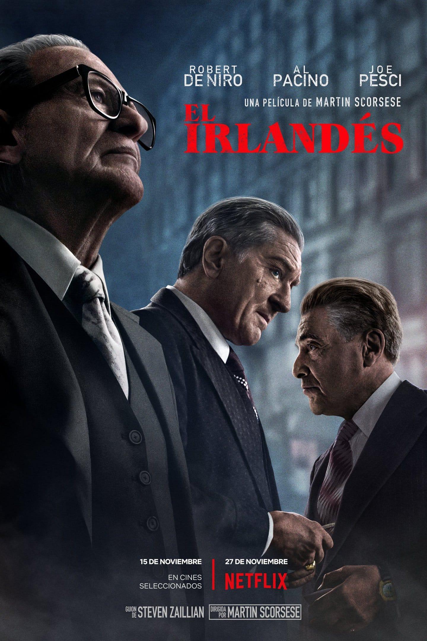 Póster El irlandés (2019)