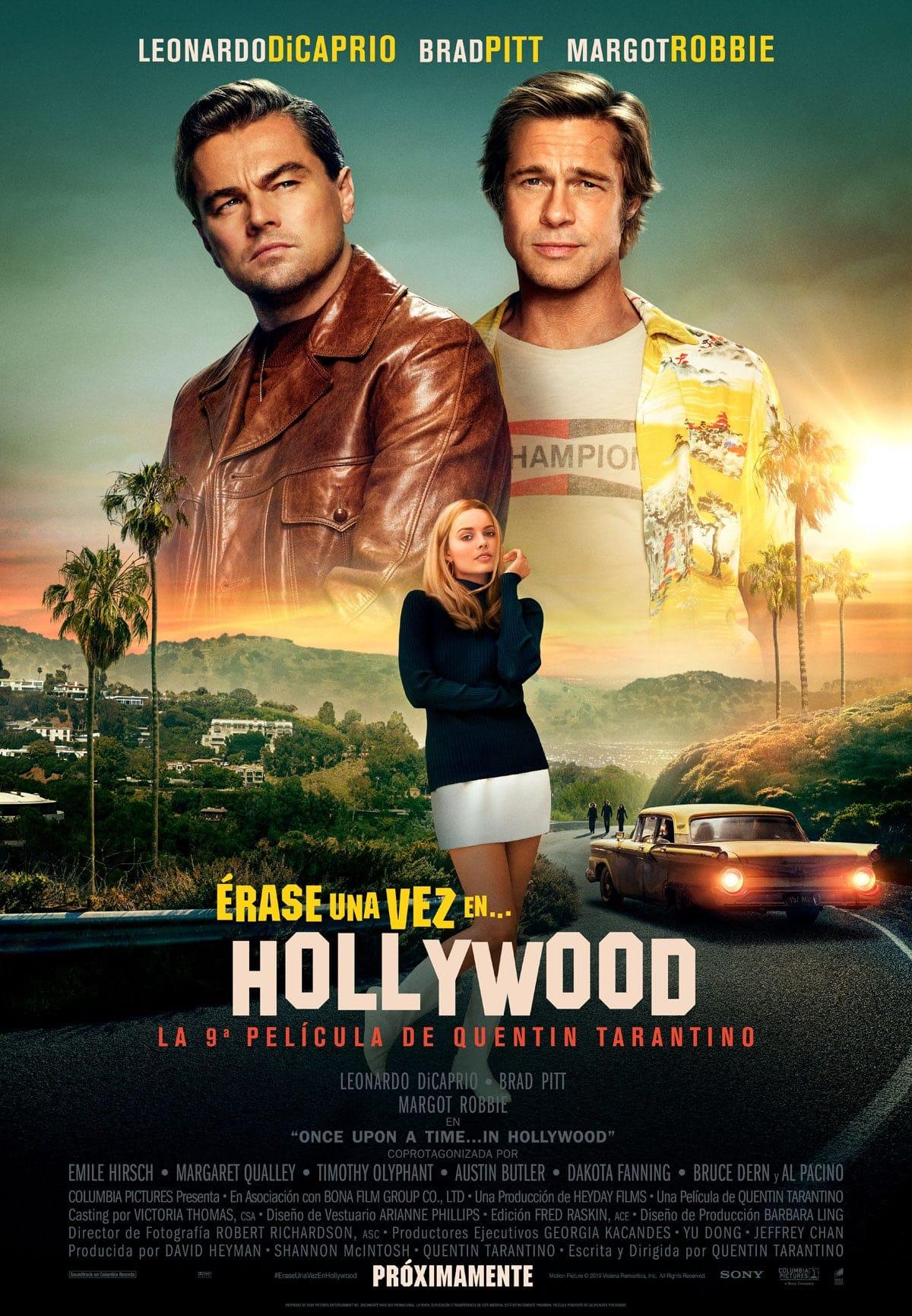 Póster Érase una vez en... Hollywood (2019)