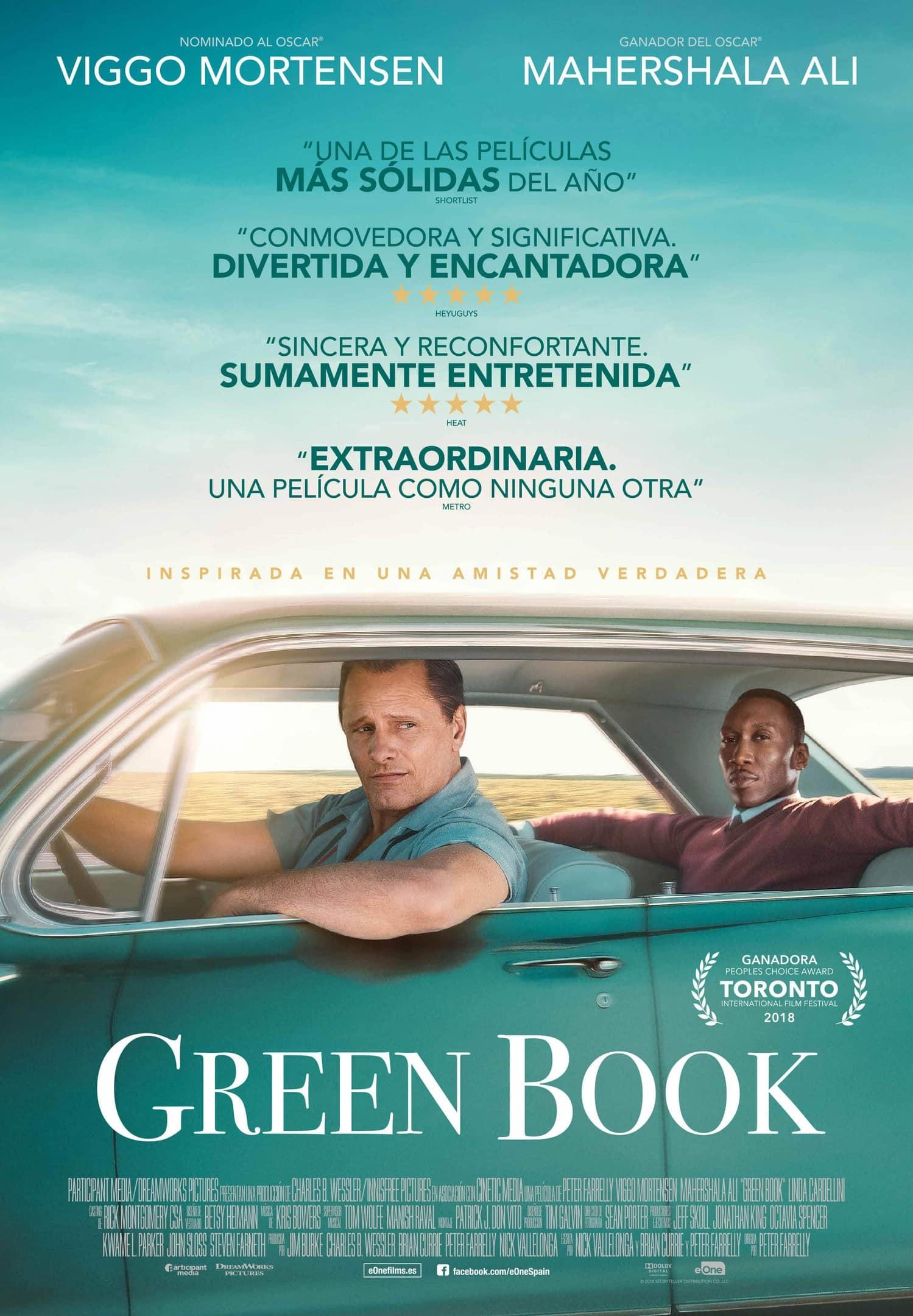 Póster Green Book (2018)