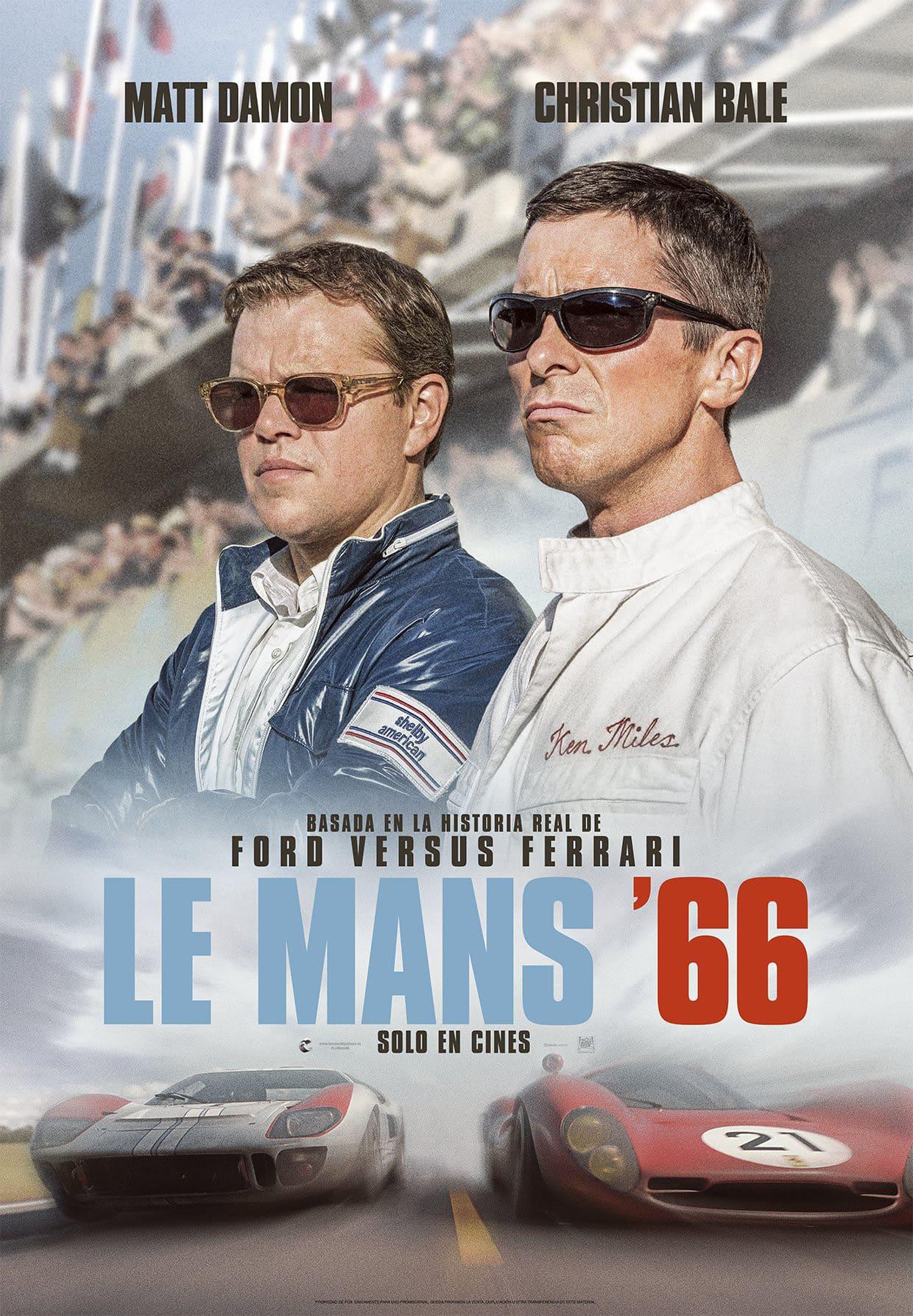 Póster Le Mans '66 (2019)