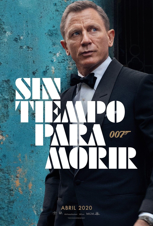 Póster oficial James Bond 007: Sin tiempo para morir (2020)