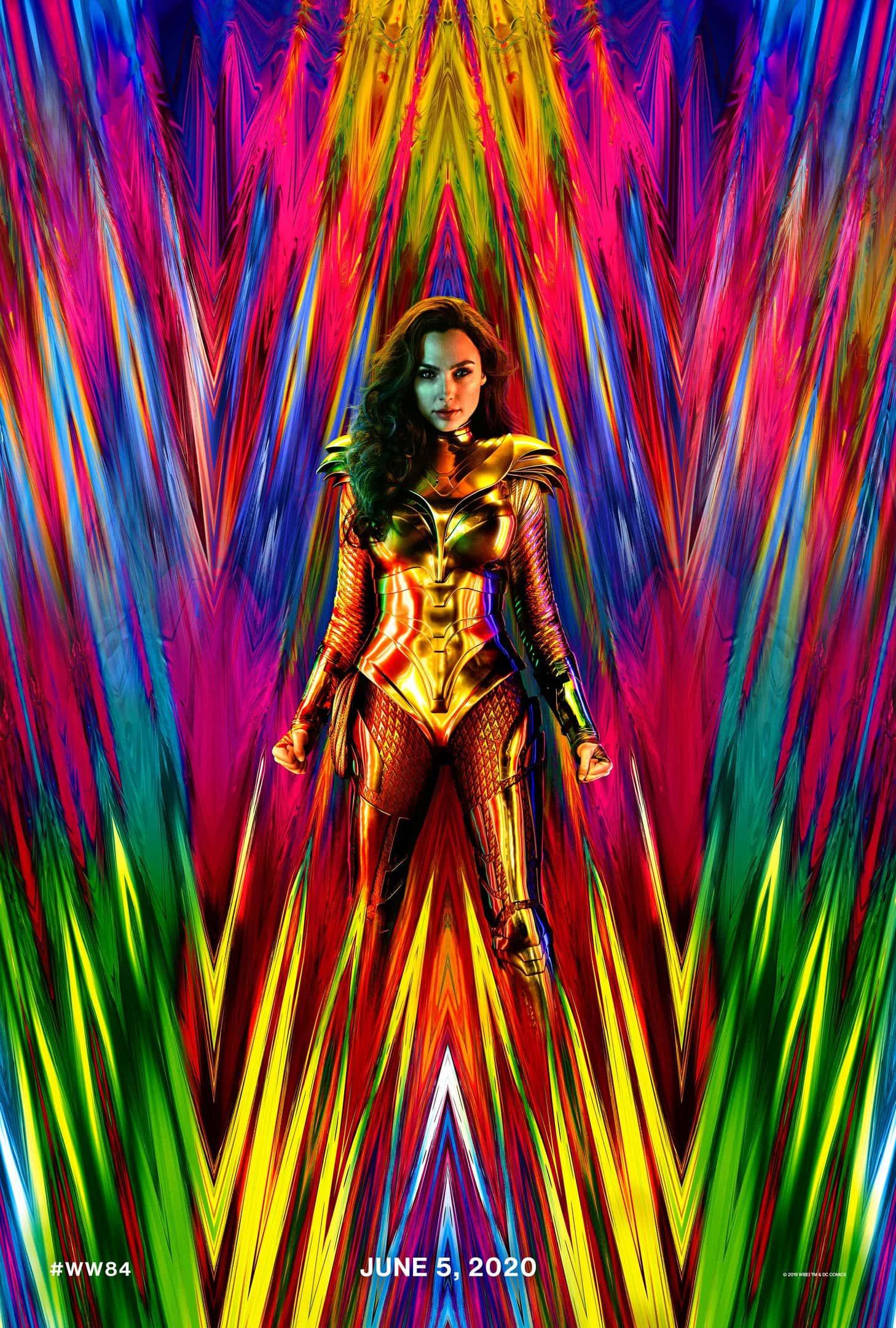 Póster oficial Wonder Woman 1984 (2020)