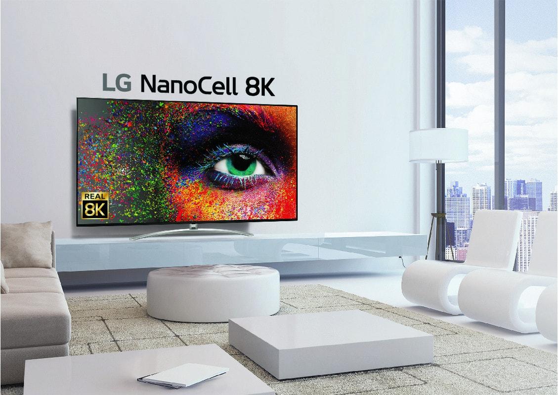 LG SIGNATURE OLED 8K presentado en CES 2020