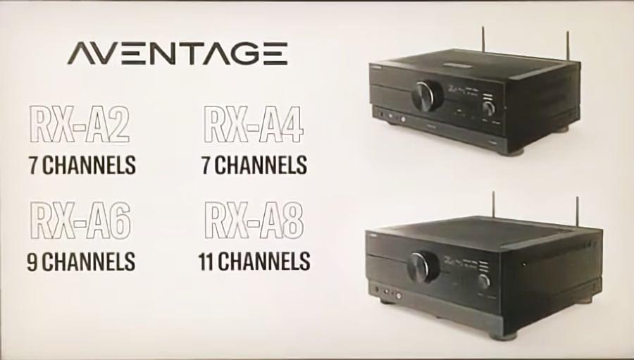 receptores AV Yamaha