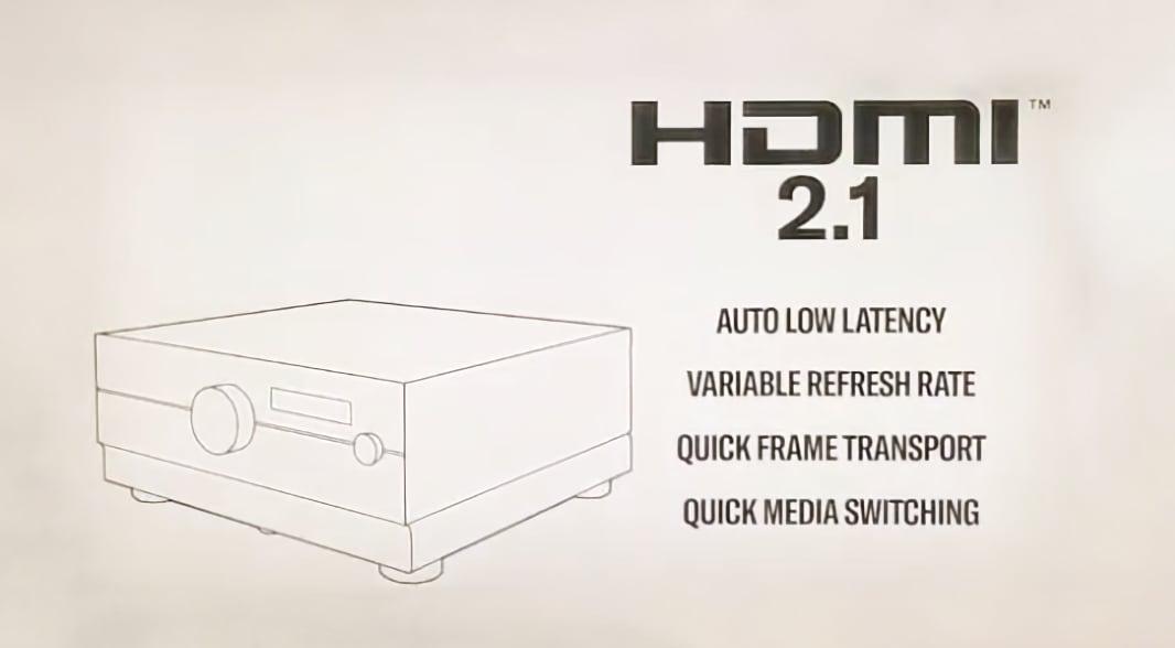 HDMI 2.1 en receptores AV yamaha