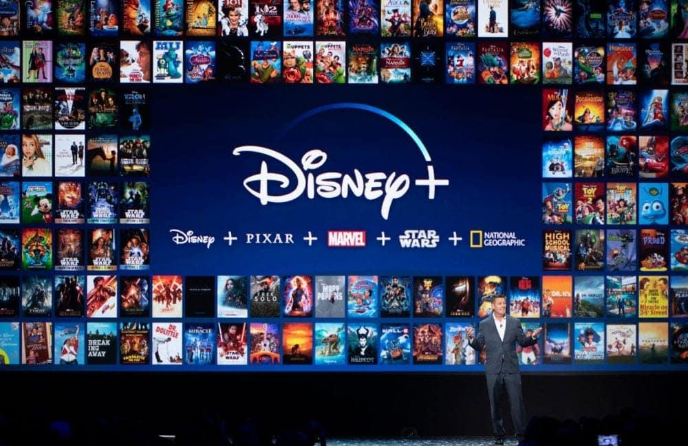 Presentación de Disney+