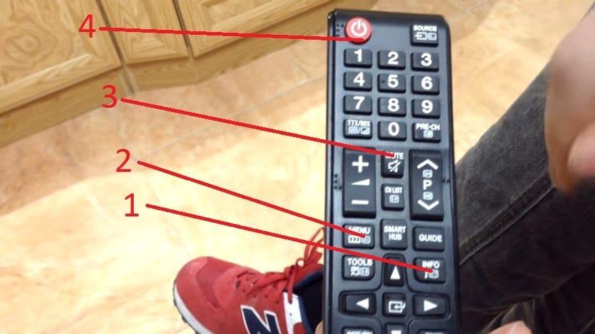 Botones para acceder al menú oculto de la Cuatro botones: lo único que has de pulsar para acceder al menú oculto de tu Smart TV Samsung