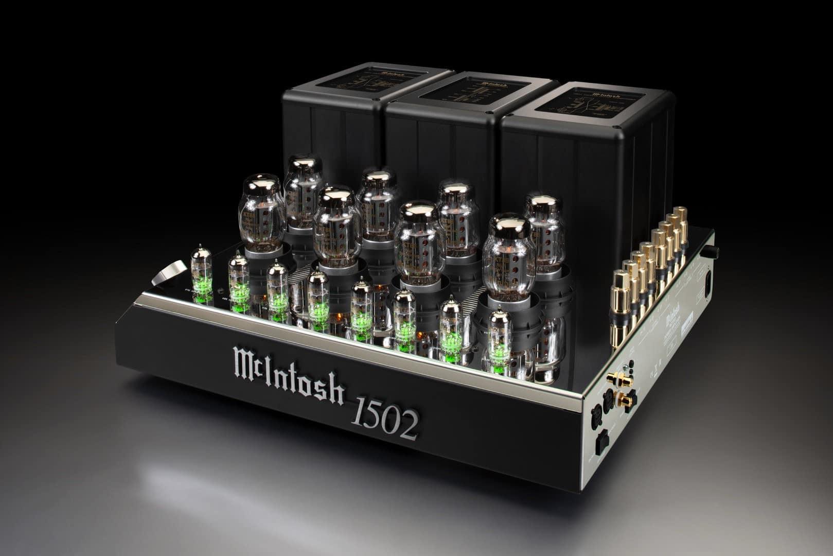 amplificador de válvulas McIntosh MC1502