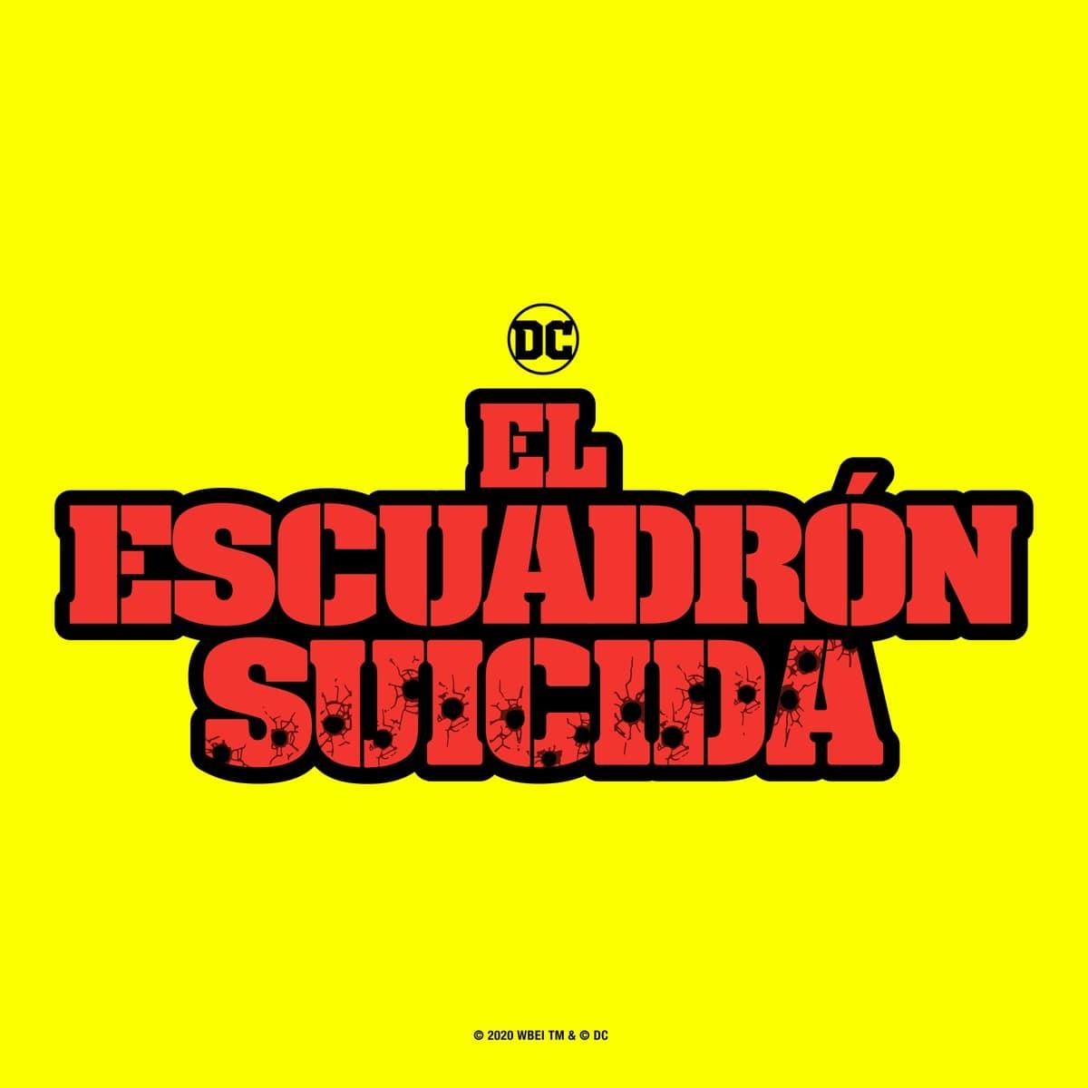 Logo español El Escuadrón suicida (2021)