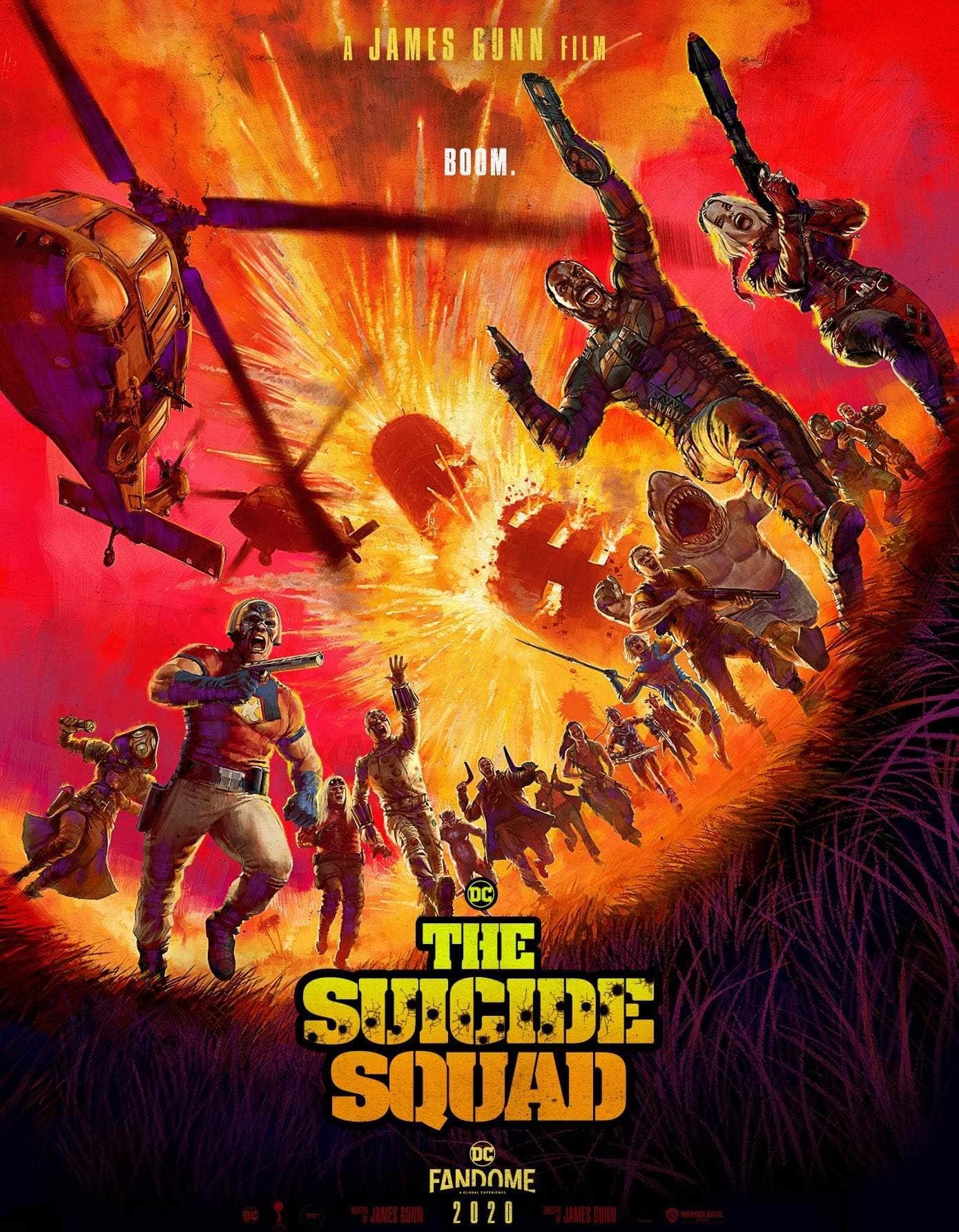 Póster El Escuadrón suicida (2021) - DC FanDome