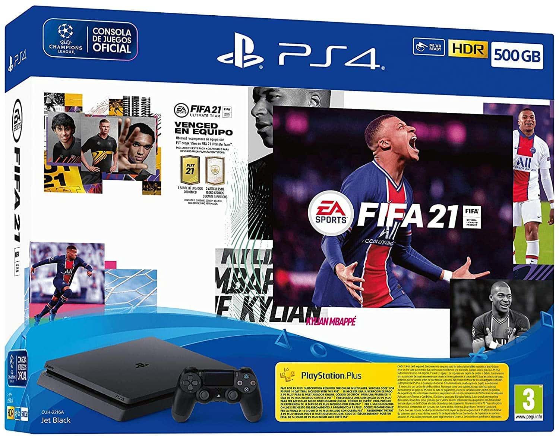 PS4 con FIFA 21