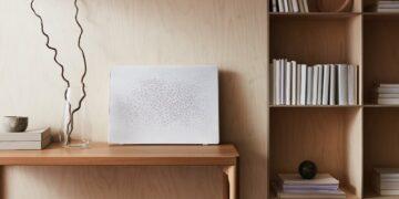 IKEA y Sonos presentan un altavoz SYMFONISK con forma de cuadro