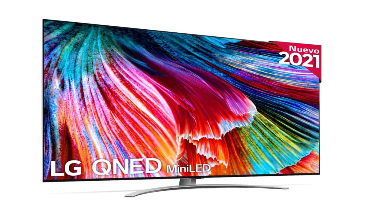 nuevos televisores QNED de LG QNED99