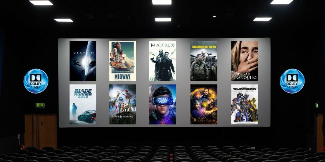 Las 10 mejores películas para probar tu sistema de sonido Dolby Atmos