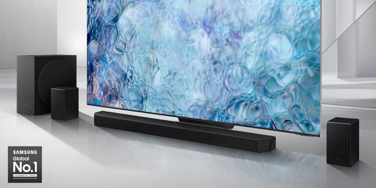 barras de sonido Samsung Q950A, Q800A y Q600A llegan a España Q950A altavoces