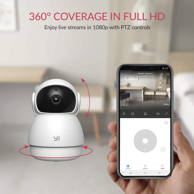 Yi Cámara de Vigilancia 1080p Dome Guard