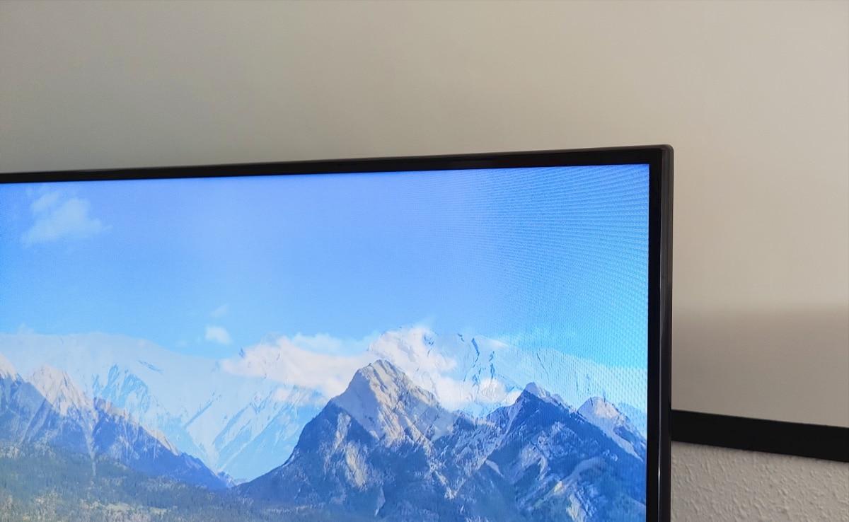 análisis Xiaomi Mi TV P1 detalle marco