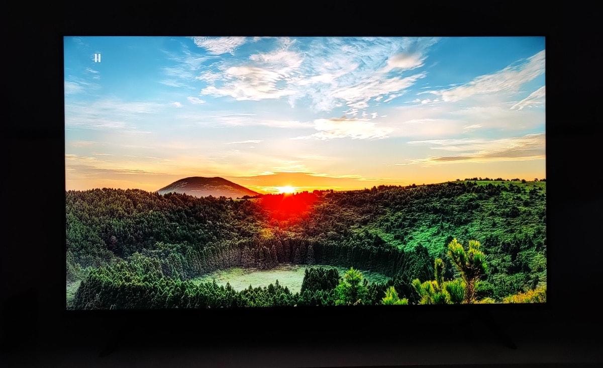 análisis Xiaomi Mi TV P1 detalle HDR