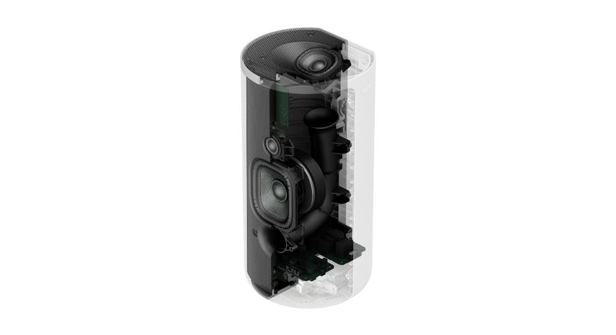 lanzamiento Sony HT-A9 altavoz por dentro