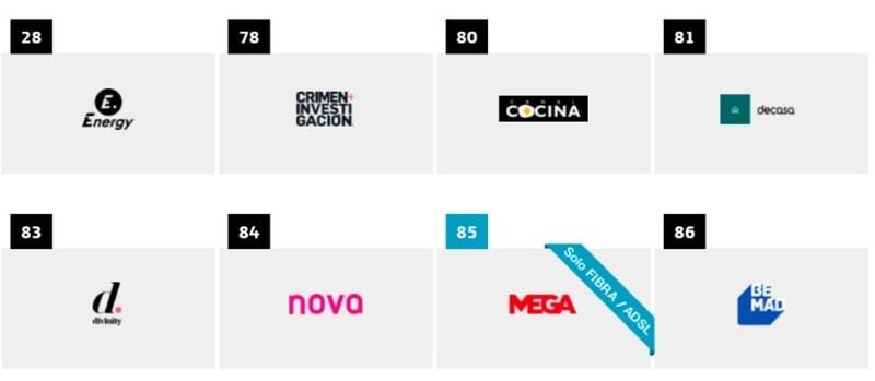 listado completo de canales y diales de Movistar+ estilo de vida