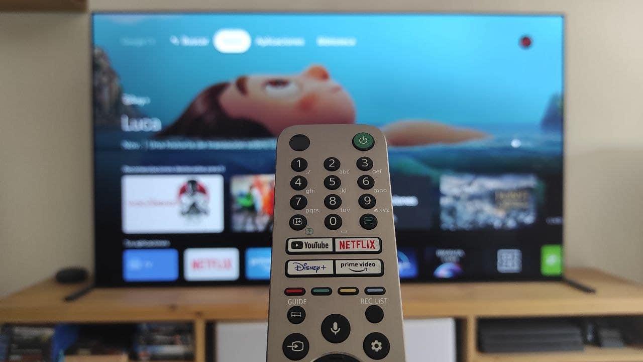 mando google TV