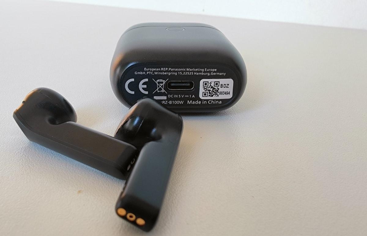 análisis Panasonic RZ-B100 carga