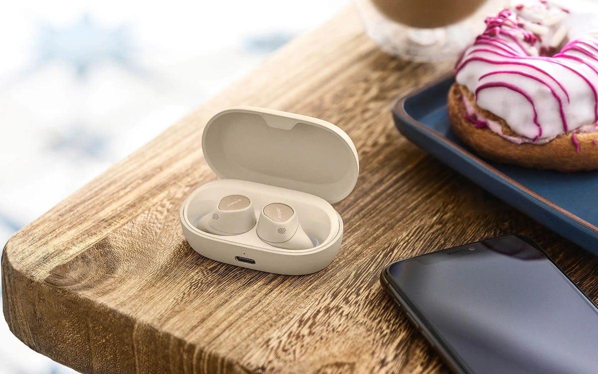 auriculares Jabra Elite 7 Pro blancos