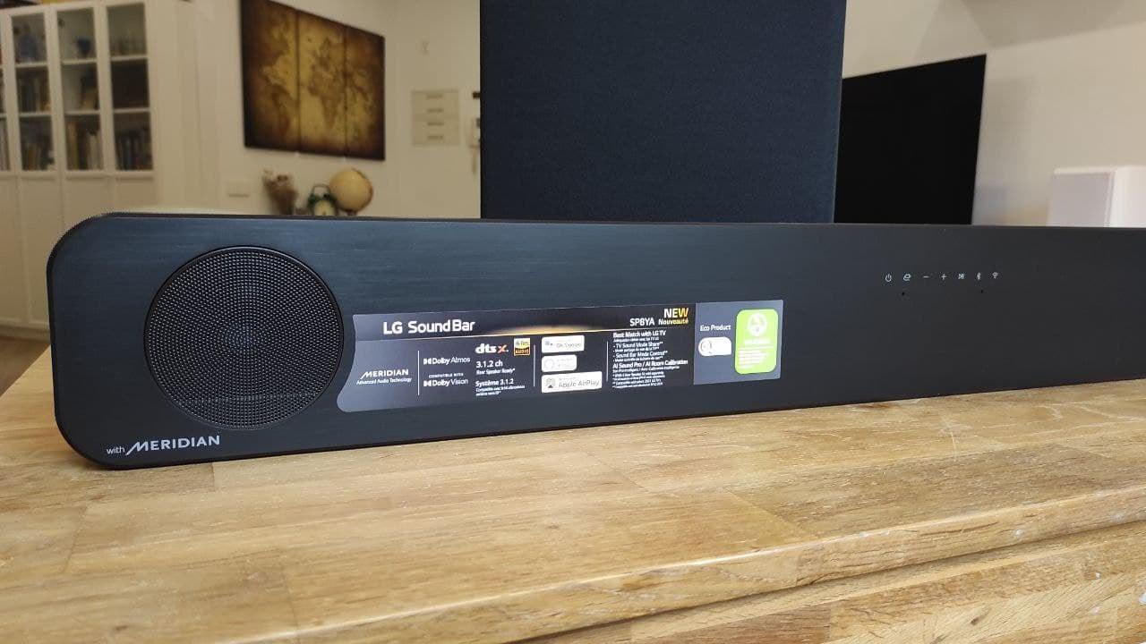 barra de sonido LG SP8YA