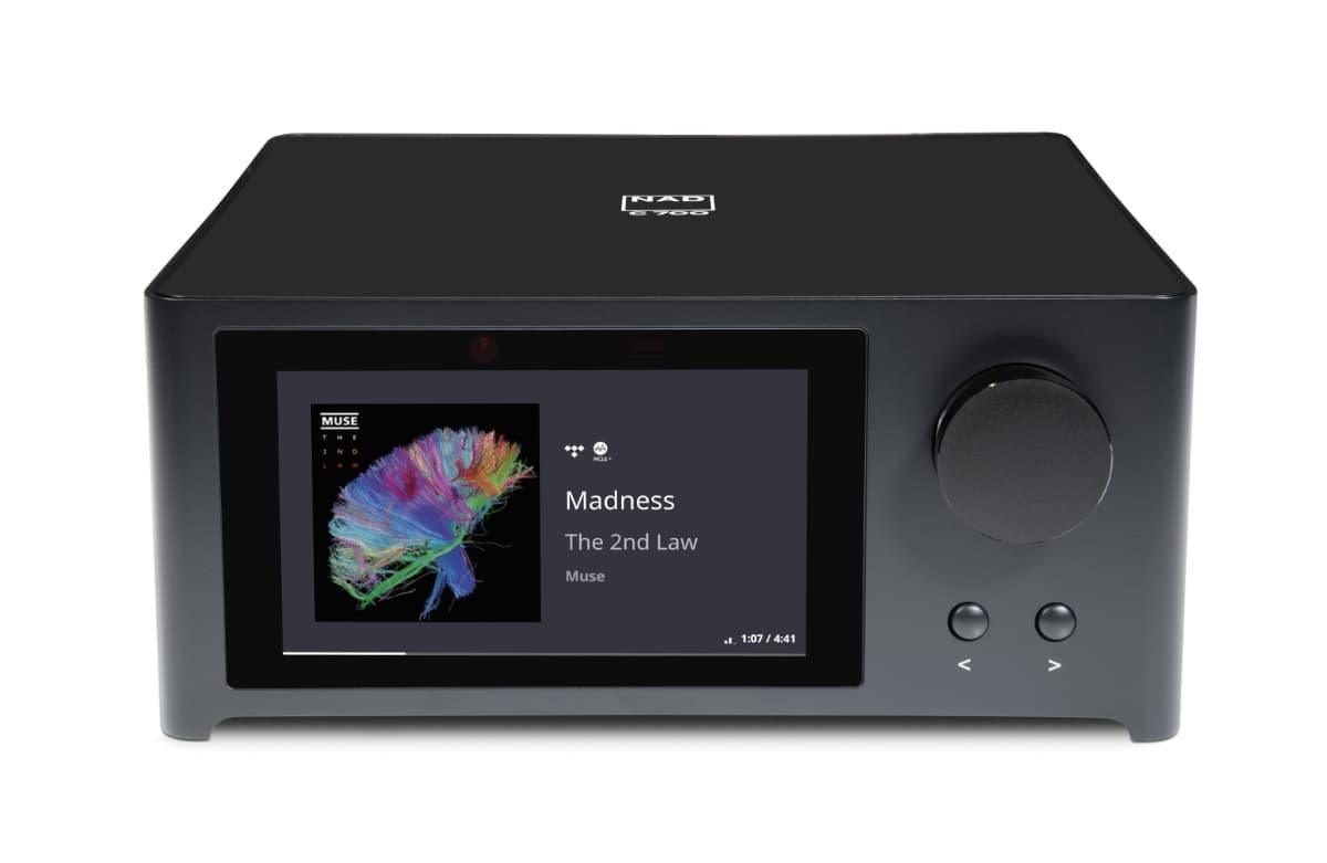 amplificador NAD C700 pantalla