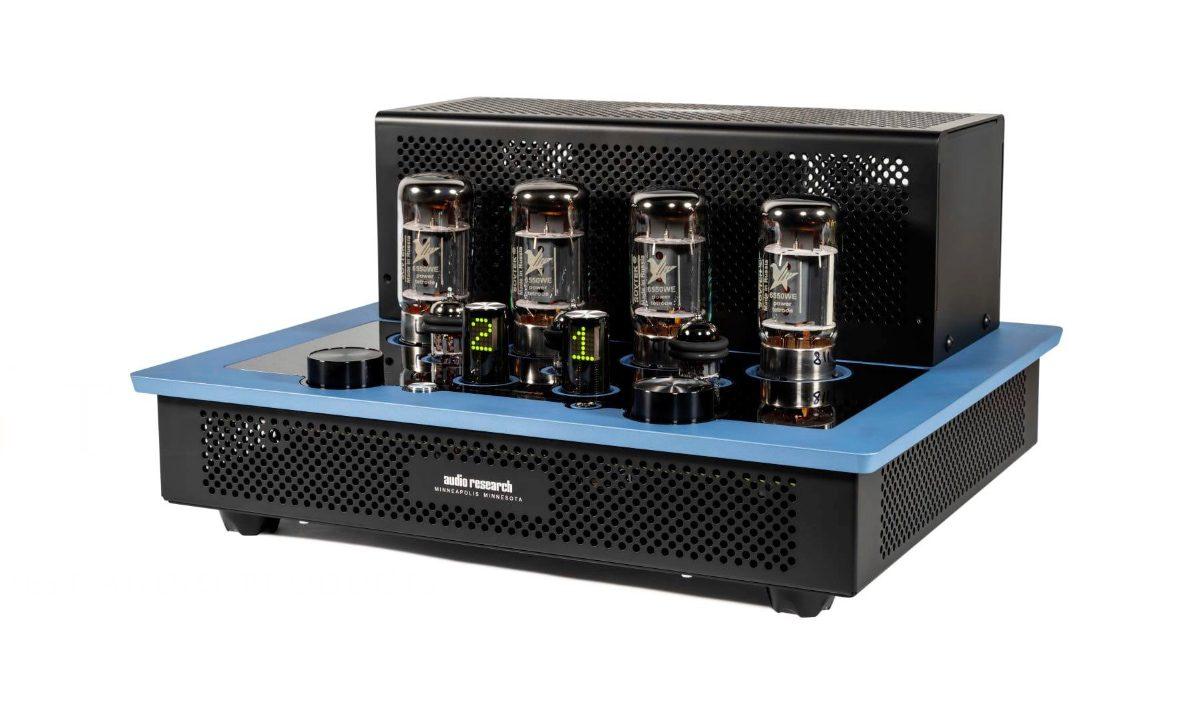 amplificador integrado Audio Research I/50 en azul