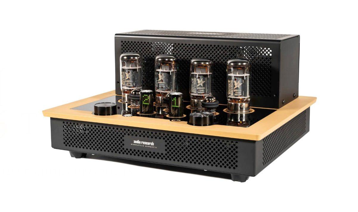 amplificador integrado Audio Research I/50 en amarillo