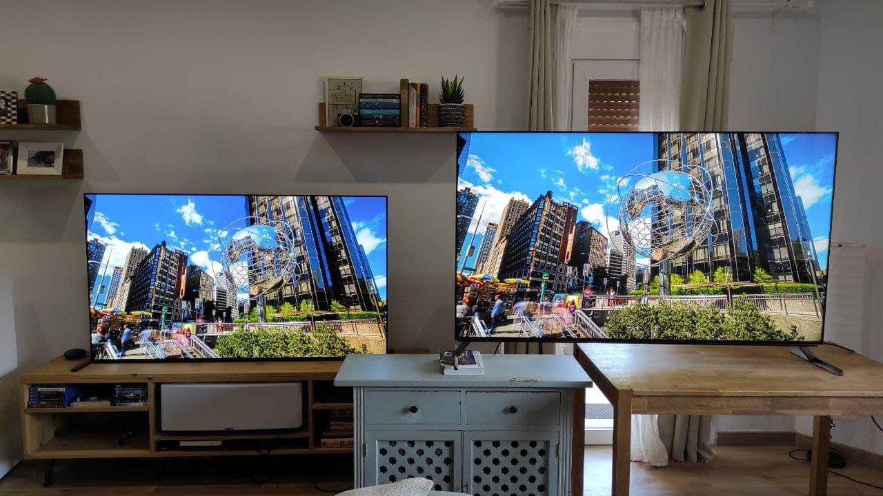 Comparativa Sony A90J vs X95J: OLED vs LED FALD