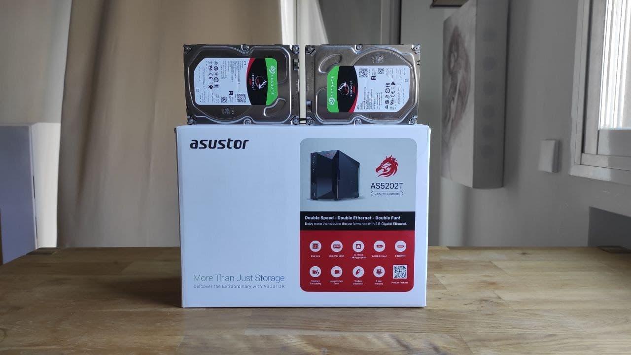 Review Asustor AS5202T: NAS y streaming al mejor precio del mercado