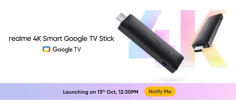 4K Smart Google TV Stick